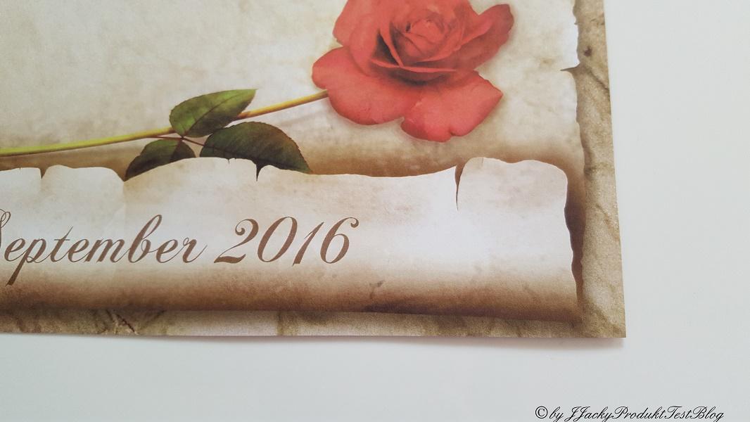 Details Urkunde für den Ruhestand
