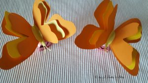 Ferrero 2 Schmetterlinge mit dreifach Flügel