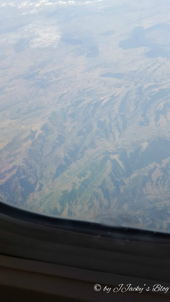 Gebirge aus der Vogelperspektive