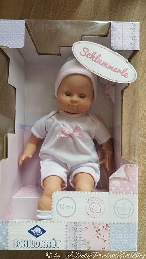 Schildkröt Puppe Schlummerle Verpackung