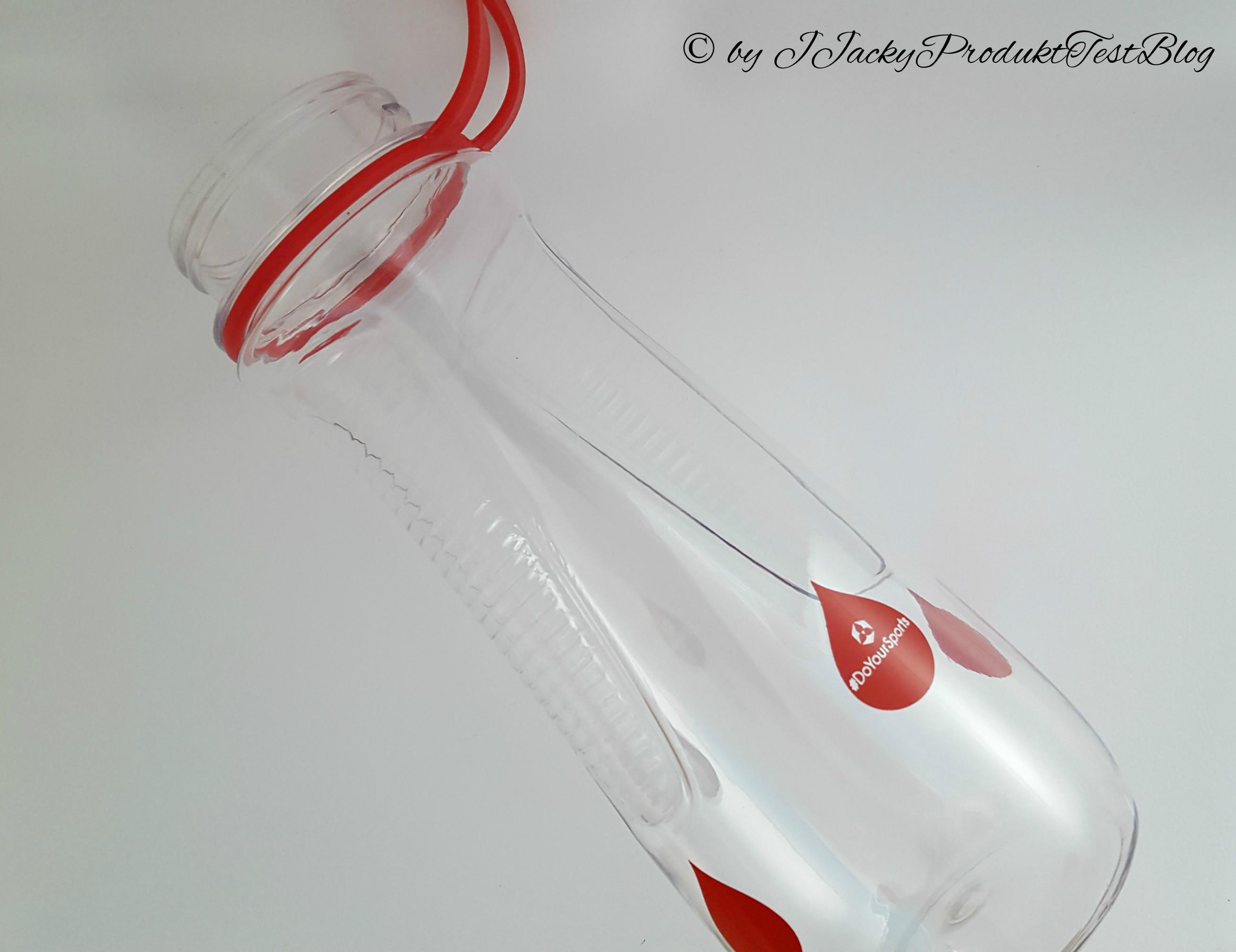 Trinkflasche ohne Deckel