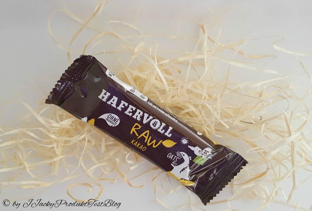 brandnooz box Hafervoll Raw Kakao