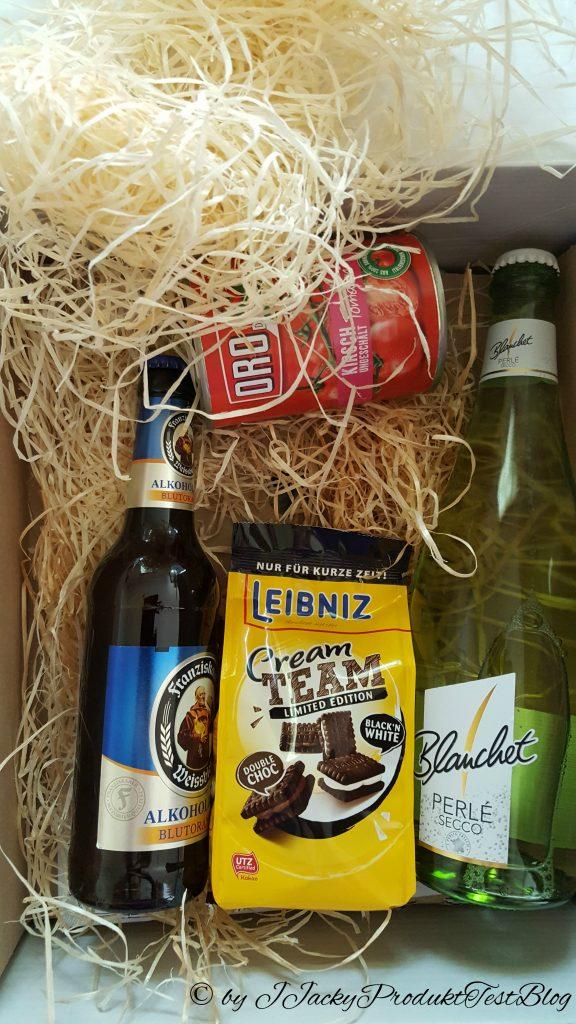 brandnooz box zweiter Teil Produkte