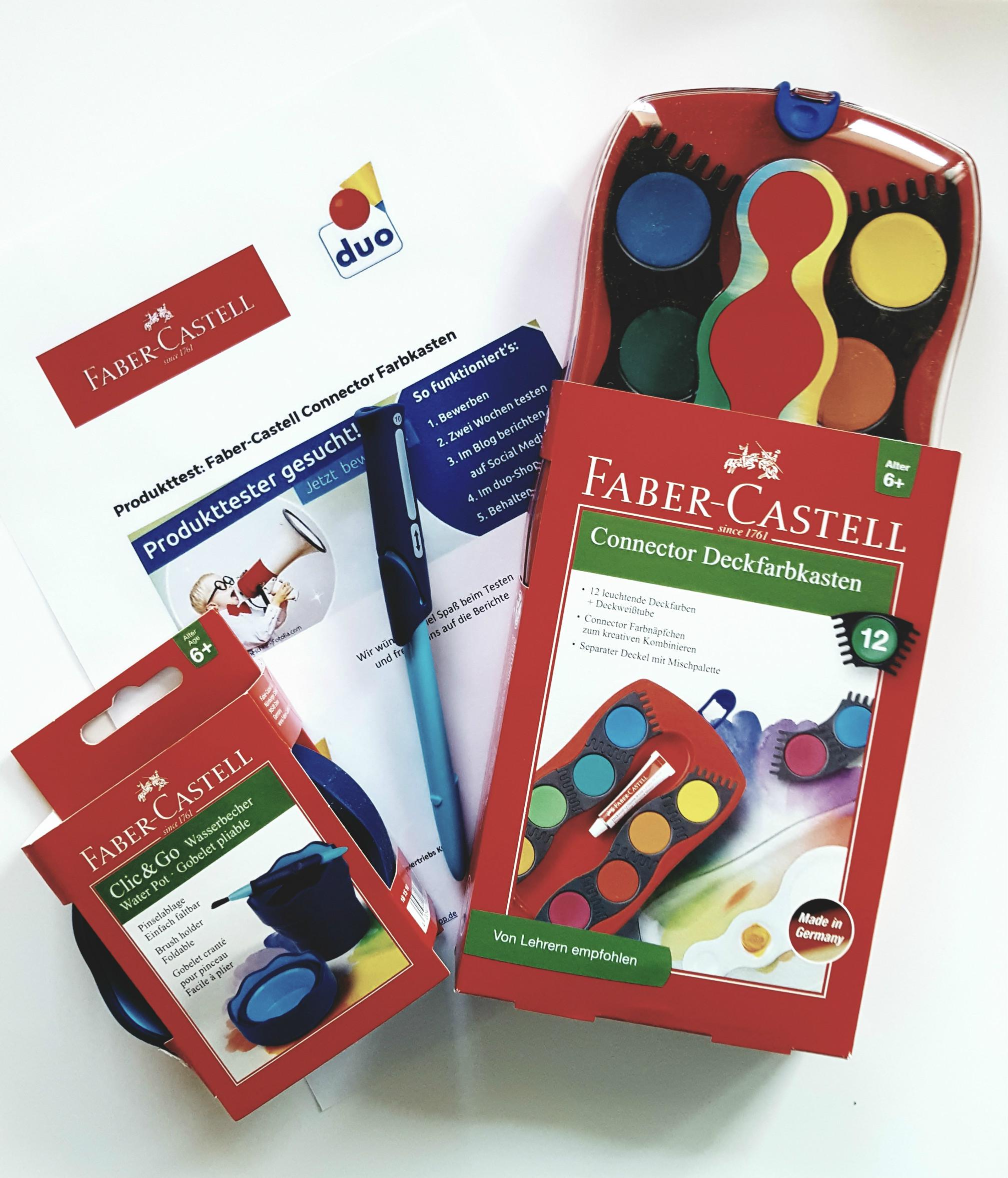 Faber-Castell von duo schreib & spiel