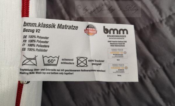 Matratze bmm
