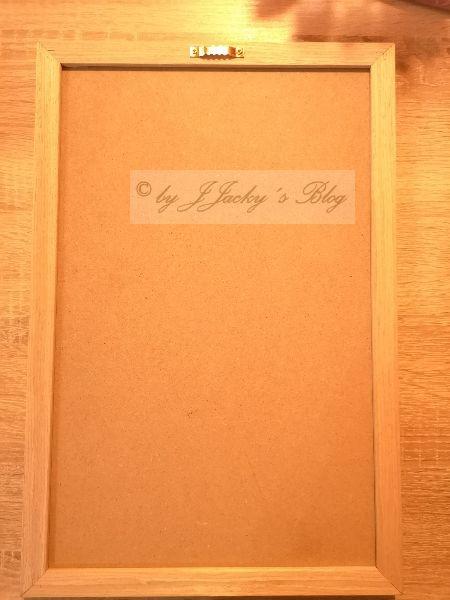Letter Board Rückseite