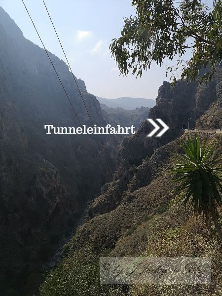 Tunneleinfahrt Kreta