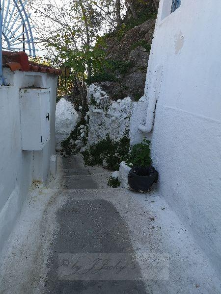 Richtung Akropolis
