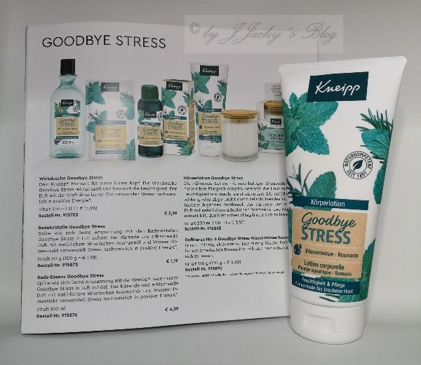 Goodbye Stress Körperlotion