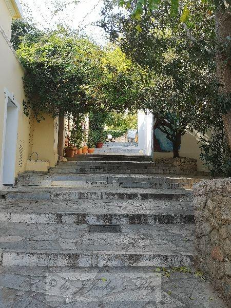 Auf dem Weg zur Akropolis