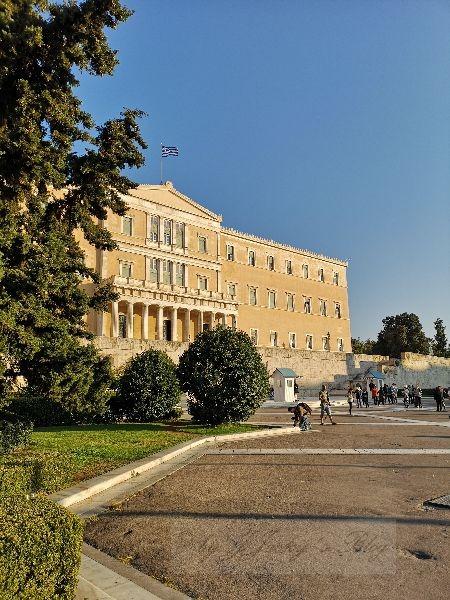 Athen Parlamentsgebäude
