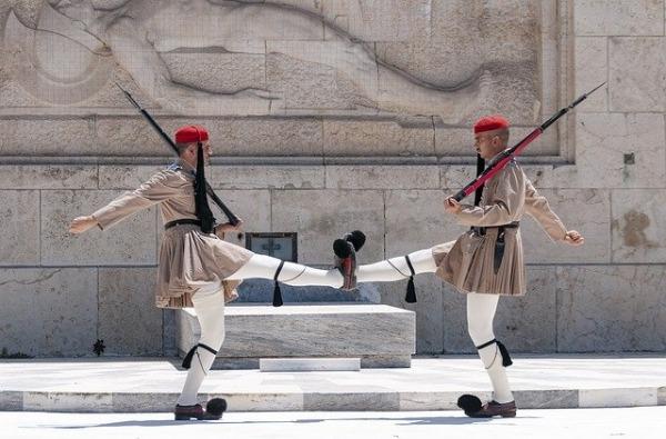 Evzonen Syntagma Platz