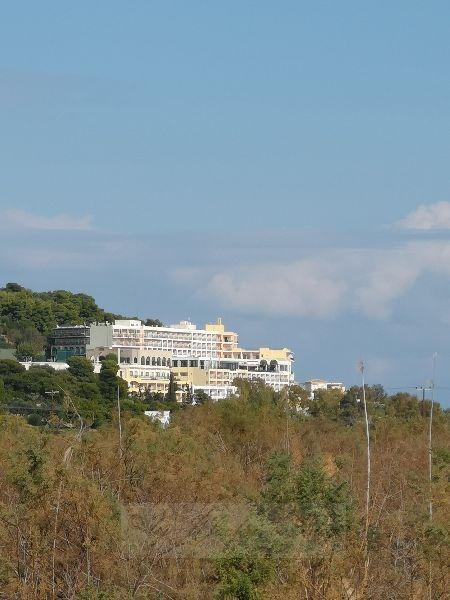 Blick auf unser Hotel