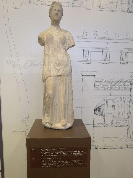 Museum Marmor Staue Artemis