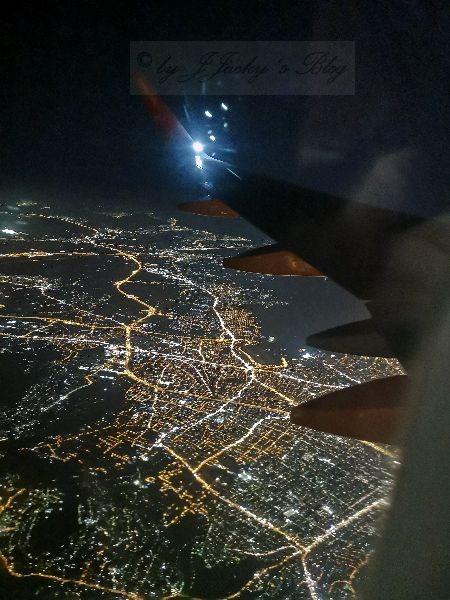 Athen vom Flugzeug aus