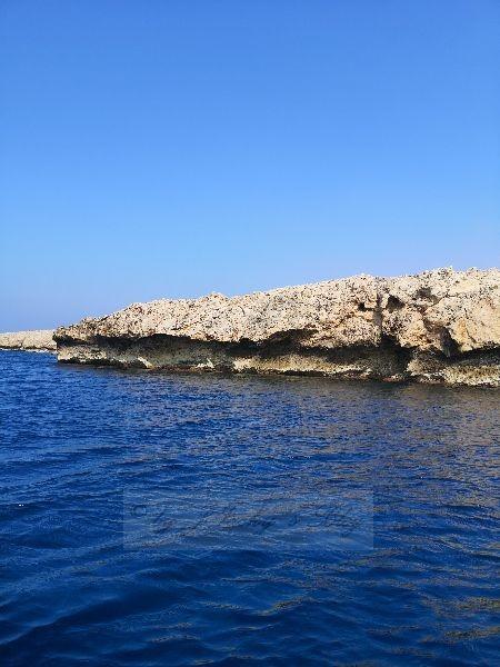 Felsen an Kretas Küste