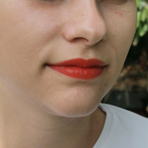 Lippen mit Lip Tint