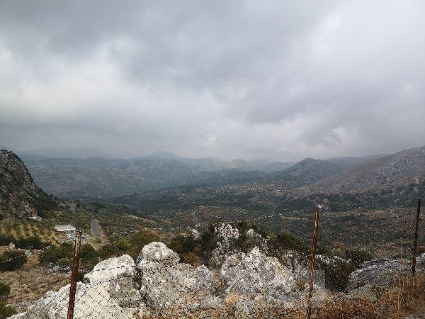 Blick auf die Berge Kreta