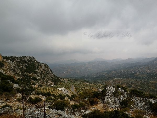 Blick von der Sfendoni Cave