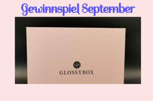 Glossybox Gewinnspiel