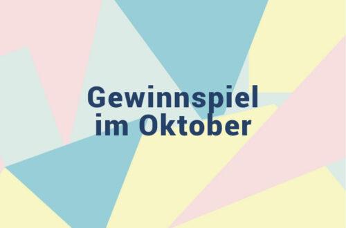 Oktober - Gewinnspiel