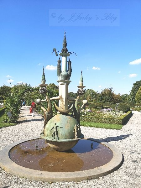 Brunnen Britzer Garten