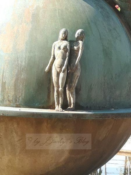 Brunnen Deko