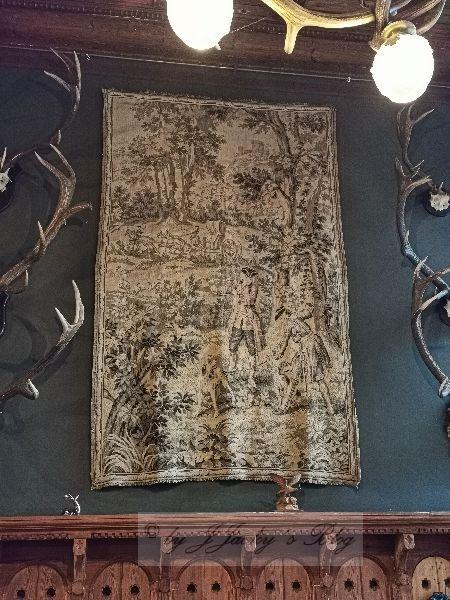 Wandteppich Jagdzimmer