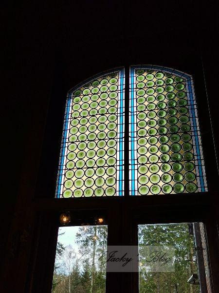 Bleiglasfenster Jagdzimmer