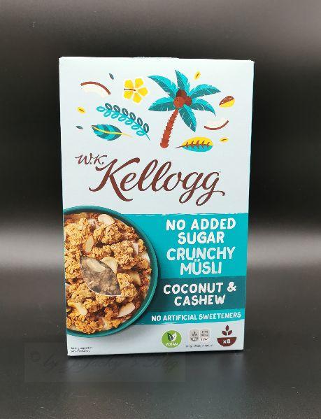 Kellogg Crunchy Müsli Coconut & Cashew B