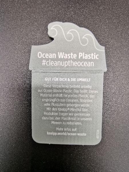 Ocean Waste Projekt Kneipp